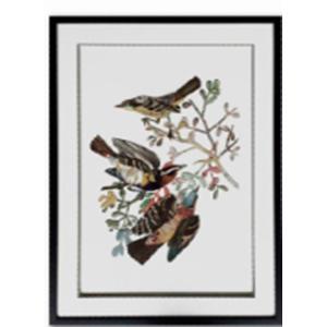 Cuadro de Aves en rama de 60x80x3cm