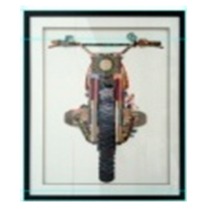 Cuadro diseño moto de 72x90x3.8cm