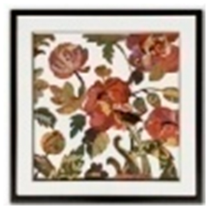 Cuadro diseño flores de 65x65x3cm