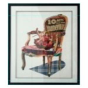 Cuadro diseño silla de 72x90x3.8cm