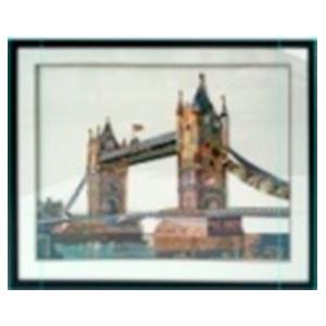 Cuadro diseño Puente de Londres de 72x90x3.8cm
