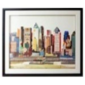 Cuadro diseño Ciudad de New York de 72x90x3.8cm