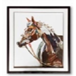Cuadro diseño cabeza de Cebra de 72x90x3.8cm