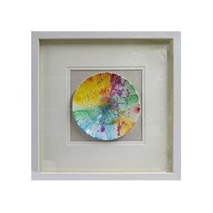 Cuadro diseño Circulo de colores de 50x50x4cm