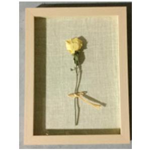 Cuadro diseño Varas de Flor amarilla en 3D de 30x40x4cm