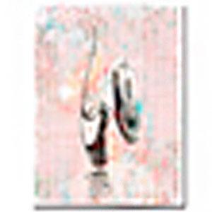 Cuadro diseño Bailarina de 30x40x1.5cm