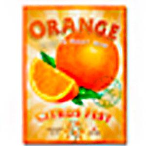 Cuadro diseño anuncio de Naranja de 30x40x1.5cm
