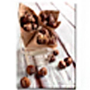 Cuadro diseño canasta con conos de Chocolates de 30x40x1.5cm