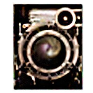 Cuadro diseño lente de Cámara antigua de 40x50x1.8cm