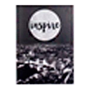 Cuadro diseño paisaje de Paris a Blanco y negro con letras de (Inspire) de 50x70x1.8cm