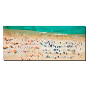 Cuadro diseño Playa de 50x120x1.8cm
