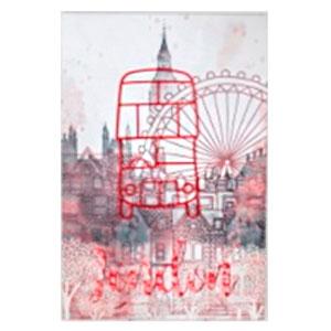 Cuadro diseño Paisaje Londres de 40x60x2.5cm
