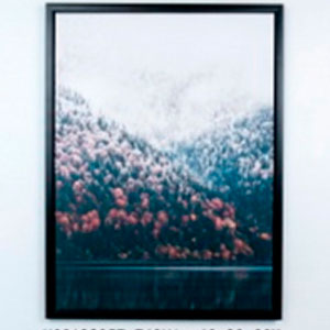 Cuadro diseño paisaje Nevado de 60x80x1.8cm