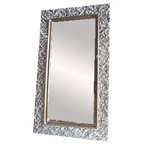Espejo rectangular de madera marco clásico de 131x226cm