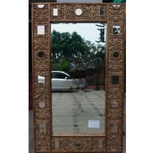 Espejo con Marco labrado terminado antiguo de 199x120x5.5cm