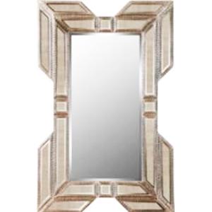 Marco con espejo tapizado de 122x61cm