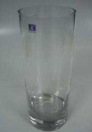 Florero de vidrio cilindrico de 100cm