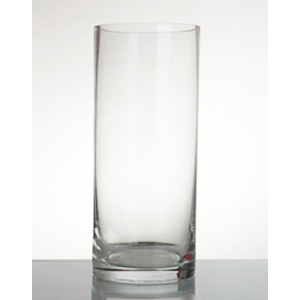 Florero cilindrico de vidrio 124 x 21 x21