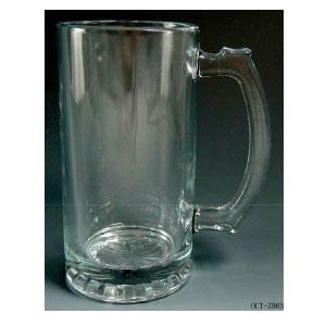 Tarro cervecero de cristal de 8x6.5x14.5cm