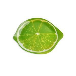 Plato de cristal diseño Limón de 24x31.3x2.3cm