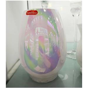 Base para pastelillos con tapa de cristal diseño mariposa de 11x23cm