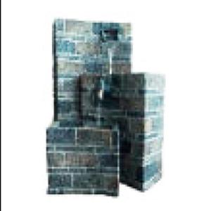 Fuente diseño bloques de tabique de 45x47x59cm