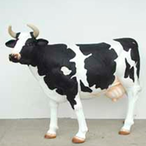 Figura de vaca de 1.65 x 2.20 m