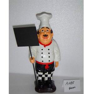 Chef con pizarrón de 42cm