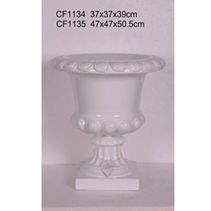 Florero diseño copa de 47x47x50.5cm