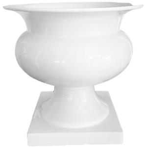 Florero diseño copa de 58x58x59cm