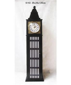 Reloj Big Ben con entrepaños de 26x26x120cm