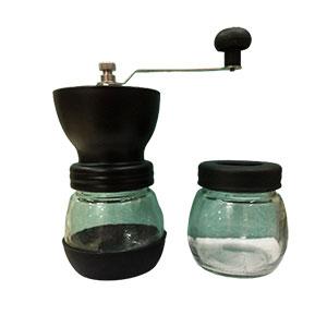 Molino de Café con depósito de cristal y repuesto (por separado)