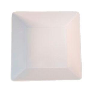Plato de melamina de 15 x 15 cm