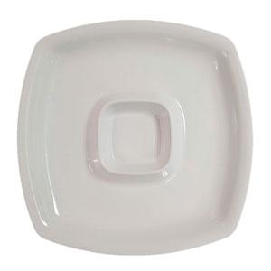Botanero de melamina c/ espacio p/ aderezos de 35.5 x 4.5cm