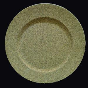 Plato de presentación de corcho color café de 33x33x2cm