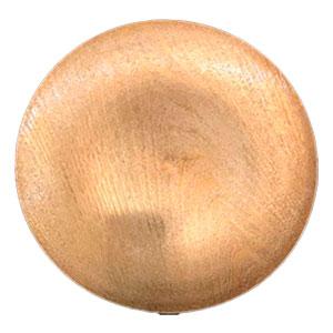 Plato de presentación dorado diseño madera de 33x33x2cm