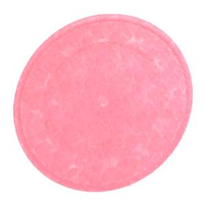 Plato de presentación rosa diseño de hexágonos de 33x33x2cm