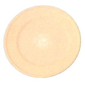 Plato de presentación beige diseño de hexágonos de 33x33x2cm