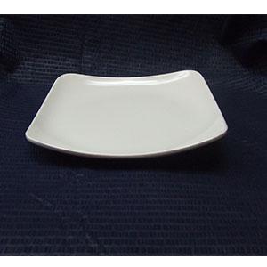 Plato de melamima de 19.5x19.5x2.8cm