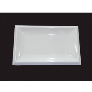 Charola de melamina de 26x16x2cm
