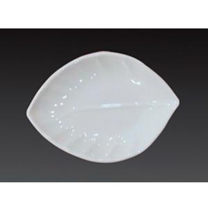 Plato de melamina diseño hoja25x8x2.5cm