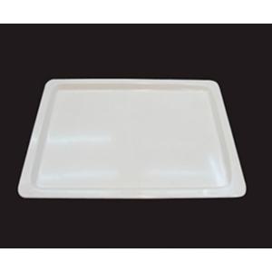 Charola de melamina rectangular de 52.5x32x2mm