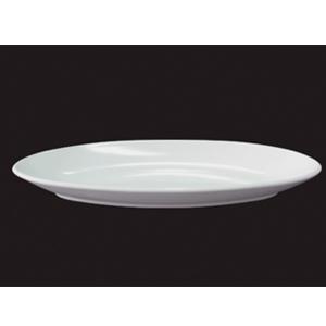 Platon oval de melamina de 41x19x4.5cm