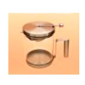 Cafetera de cristal con tapa y base de metal de 900ml