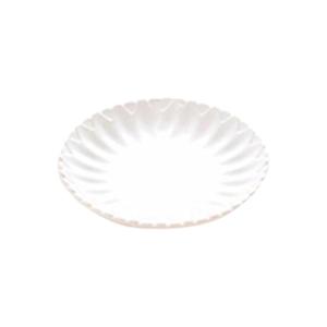 Plato de melamina blanco de 20x2.5cm