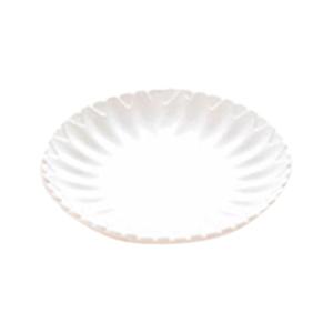 Plato de melamina blanco de 30x3cm