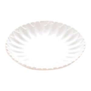 Plato de melamina blanco de 35x3cm