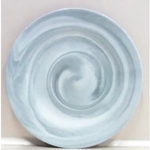 Planto de melamina diseño marmol gris de 21cm