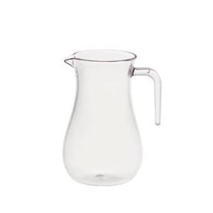 Jarra transparente de policarbonato de 600 ml y 9.4x15 cm (20 oz)