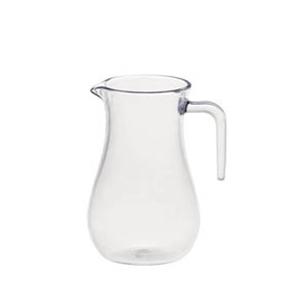 Jarra transparente de policarbonato de 300 ml y 7.5x12 cm (10 oz)